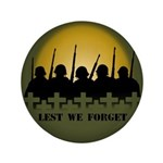 """Lest We Forget Remembrance 3.5"""" Button (100 pack)"""