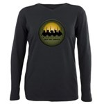 Lest We Forget Remembran Plus Size Long Sleeve Tee