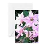 Pink Wildflowers Greeting Cards