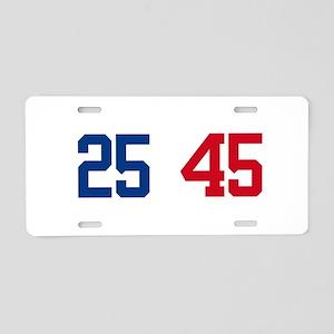 25th Amendment Trump Aluminum License Plate