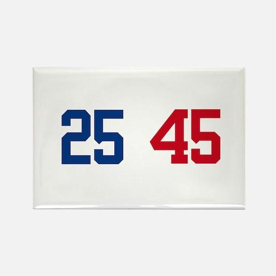 25th Amendment Trump Rectangle Magnet