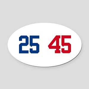 25th Amendment Trump Oval Car Magnet