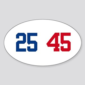 25th Amendment Trump Sticker (Oval)