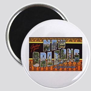 New Orleans Louisiana Greetings Magnet