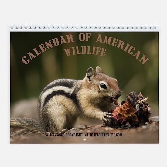 Chipmunk calendars cafepress wildlife wall calendar sciox Images