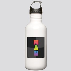 Man Stainless Water Bottle 1.0L