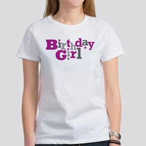 Purple Birthday Girl Women's T-Shirt