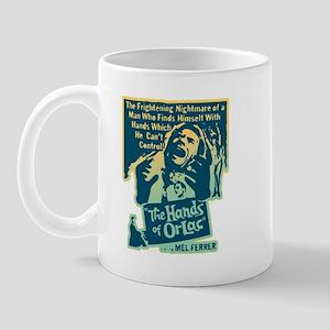 Hands of Orlac Horror Mug