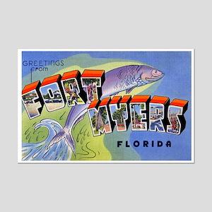 Fort Myers Florida Greetings Mini Poster Print