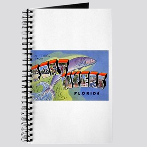 Fort Myers Florida Greetings Journal