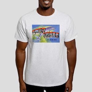 Fort Myers Florida Greetings Ash Grey T-Shirt