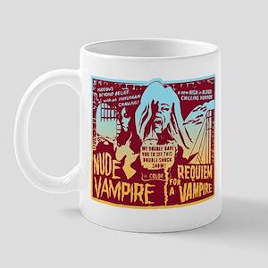 Nude Vampire B-Movie Mug