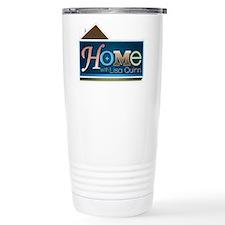 Home with Lisa Quinn Stainless Steel Travel Mug