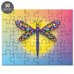 Dragonfly1 - Sun Puzzle