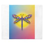 Dragonfly1 - Sun King Duvet