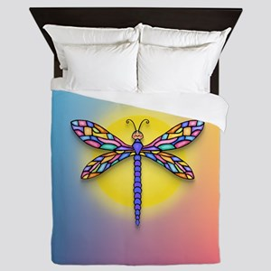 Dragonfly1 - Sun Queen Duvet
