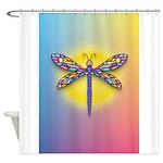 Dragonfly1 - Sun Shower Curtain