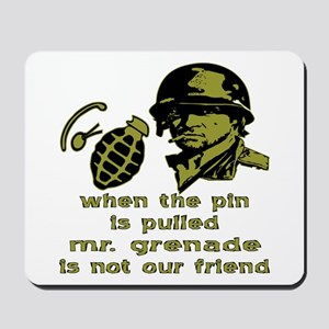 Mr. Grenade Mousepad