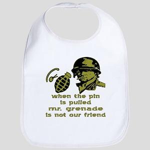Mr. Grenade Bib