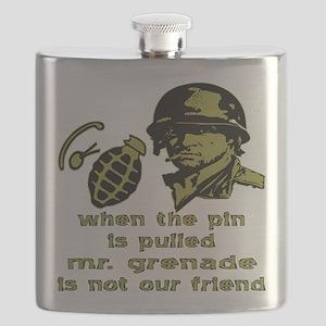 Mr. Grenade Flask