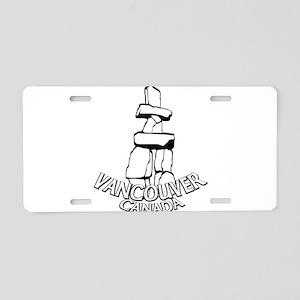 Vancouver Inukshuk Souvenir Aluminum License Plate