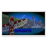 Vancouver Inukshuk Souvenir Sticker