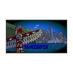 Vancouver Inukshuk Souvenir Decal Wall Sticker