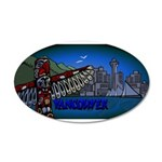 Vancouver Inukshuk Souvenir Decal Wall Sticker