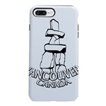 Vancouver Inukshuk Souvenir iPhone 7 Plus Tough Ca