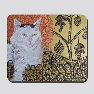 """""""Klimt's Cat"""" Mousepad"""
