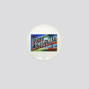 Fort Lauderdale Florida Greetings Mini Button