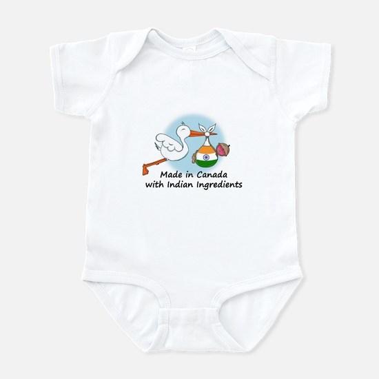 Stork Baby India Canada Infant Bodysuit