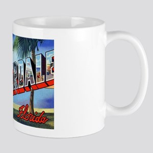 Fort Lauderdale Florida Greetings Mug