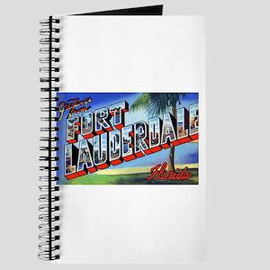 Fort Lauderdale Florida Greetings Journal