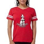 Vancouver Inukshuk Souvenir Womens Football Shirt