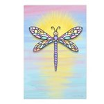 Pastel Dragonfly Postcards (Package of 8)