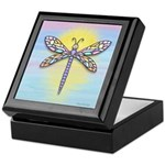 Pastel Dragonfly Keepsake Box