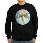 Pastel Dragonfly Sweatshirt (dark)