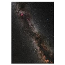 Cygnus, Lyra and the Great Rift Canvas Art