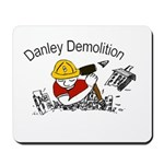 Danley logo with black lettering Mousepad