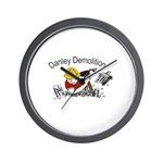 Danley logo with black lettering Wall Clock