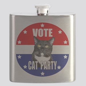 Vote: Cat Party! Flask
