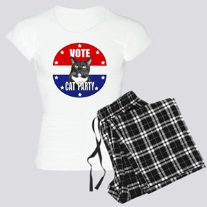 Vote: Cat Party! Women's Light Pajamas