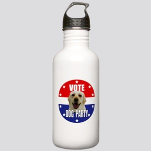 Vote: Dog Party! Stainless Water Bottle 1.0L