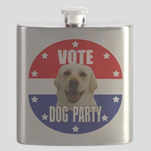 Vote: Dog Party! Flask