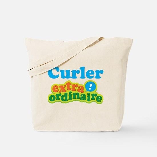 Curler Extraordinaire Tote Bag