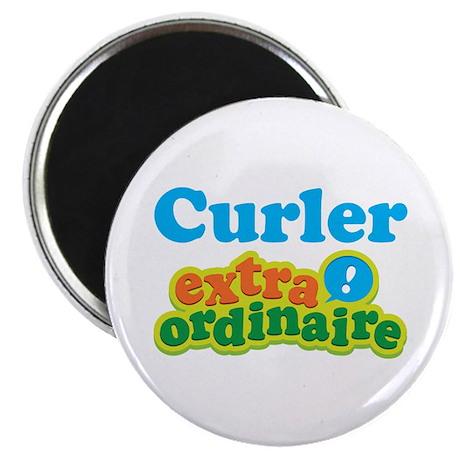 "Curler Extraordinaire 2.25"" Magnet (10 pack)"