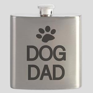 DOG DAD Flask