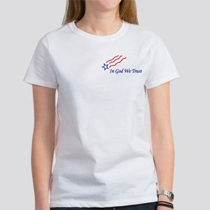 In God star 2 Side Women's T-Shirt