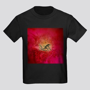 The dragon on vintage background T-Shirt